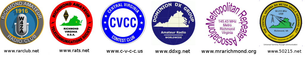 Six sponsoring clubs